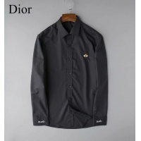 Christian Dior Shirts Long Sleeved Polo For Men #524401