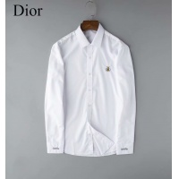 Christian Dior Shirts Long Sleeved Polo For Men #524402