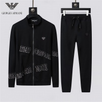 Armani Tracksuits Long Sleeved Zipper For Men #524461
