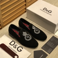 Dolce & Gabbana D&G Leather Shoes For Men #524581