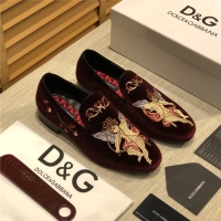 Dolce & Gabbana D&G Leather Shoes For Men #524582