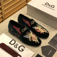 Dolce & Gabbana D&G Leather Shoes For Men #524583