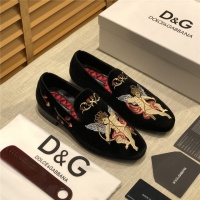 Dolce & Gabbana D&G Leather Shoes For Men #524584