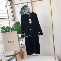 Dior Dresses Long Sleeved V-Neck For Women #525134