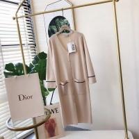 Dior Dresses Long Sleeved V-Neck For Women #525135