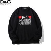 Dolce & Gabbana D&G Hoodies Long Sleeved O-Neck For Men #525337