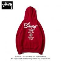 Cheap Stussy Hoodies Long Sleeved Hat For Men #525375 Replica Wholesale [$36.86 USD] [W#525375] on Replica Stussy Hoodies