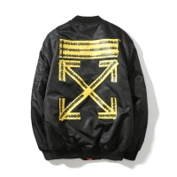 Cheap Off-White Jackets Long Sleeved Zipper For Men #525385 Replica Wholesale [$48.50 USD] [W#525385] on Replica Off-White Jackets