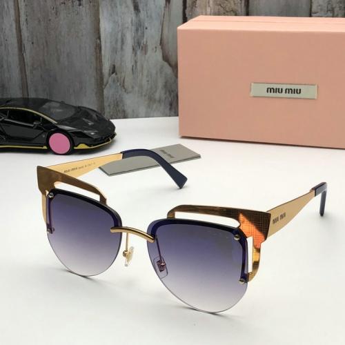 Cheap MIU MIU AAA Quality Sunglasses #525477 Replica Wholesale [$65.96 USD] [W#525477] on Replica MIU MIU AAA Sunglasses