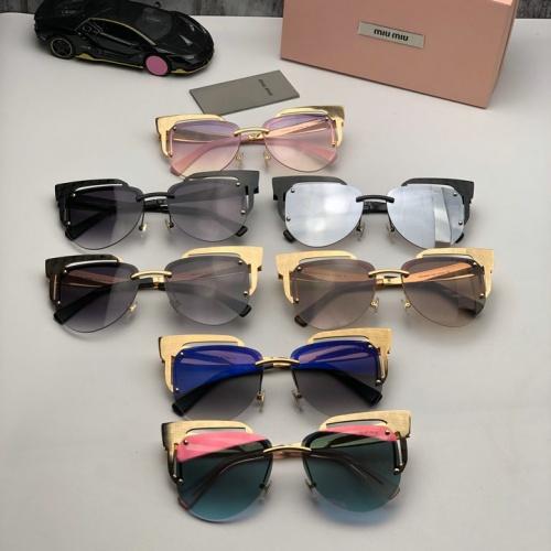 Cheap MIU MIU AAA Quality Sunglasses #525478 Replica Wholesale [$65.96 USD] [W#525478] on Replica MIU MIU AAA Sunglasses