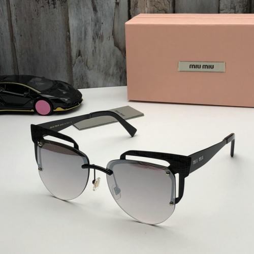 Cheap MIU MIU AAA Quality Sunglasses #525480 Replica Wholesale [$65.96 USD] [W#525480] on Replica MIU MIU AAA Sunglasses