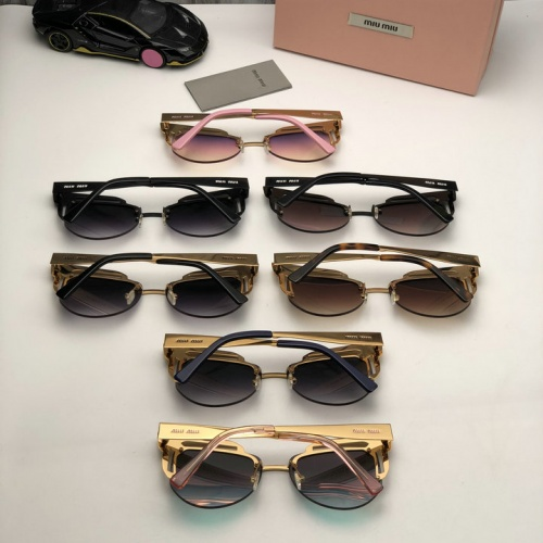 Cheap MIU MIU AAA Quality Sunglasses #525481 Replica Wholesale [$65.96 USD] [W#525481] on Replica MIU MIU AAA Sunglasses