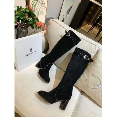 Cheap Givenchy Boots For Women #525564 Replica Wholesale [$108.64 USD] [W#525564] on Replica Givenchy Boots