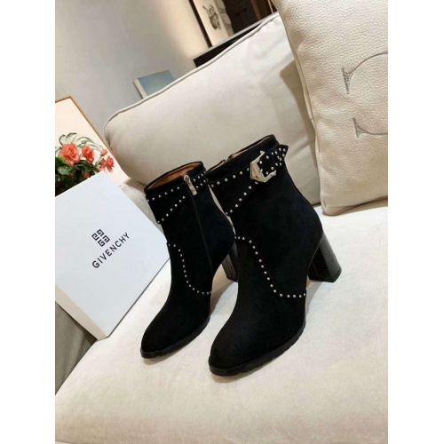 Cheap Givenchy Boots For Women #525569 Replica Wholesale [$89.24 USD] [W#525569] on Replica Givenchy Boots