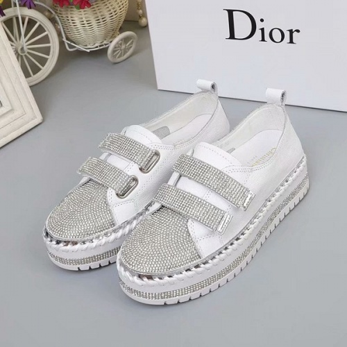Cheap Christian Dior Casual Shoes For Women #525639 Replica Wholesale [$77.60 USD] [W#525639] on Replica Christian Dior Shoes