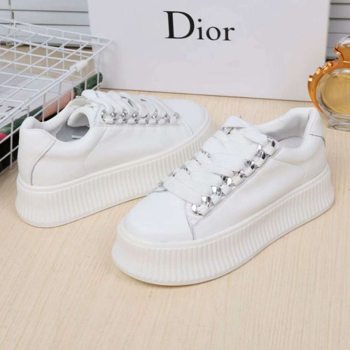 Cheap Christian Dior Casual Shoes For Women #525641 Replica Wholesale [$77.60 USD] [W#525641] on Replica Christian Dior Shoes