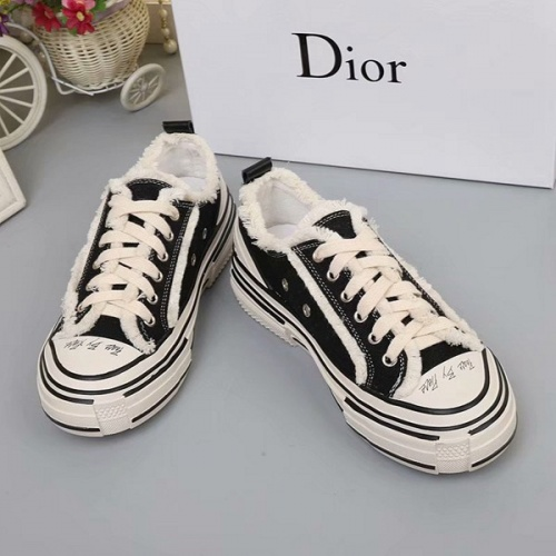 Cheap Christian Dior Casual Shoes For Women #525656 Replica Wholesale [$73.72 USD] [W#525656] on Replica Christian Dior Shoes