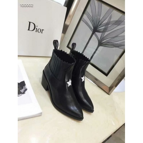 Cheap Christian Dior Boots For Women #525678 Replica Wholesale [$82.45 USD] [W#525678] on Replica Christian Dior Boots