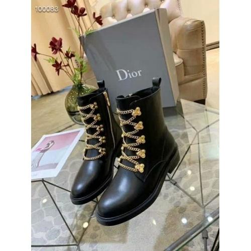 Cheap Christian Dior Boots For Women #525680 Replica Wholesale [$97.00 USD] [W#525680] on Replica Christian Dior Boots