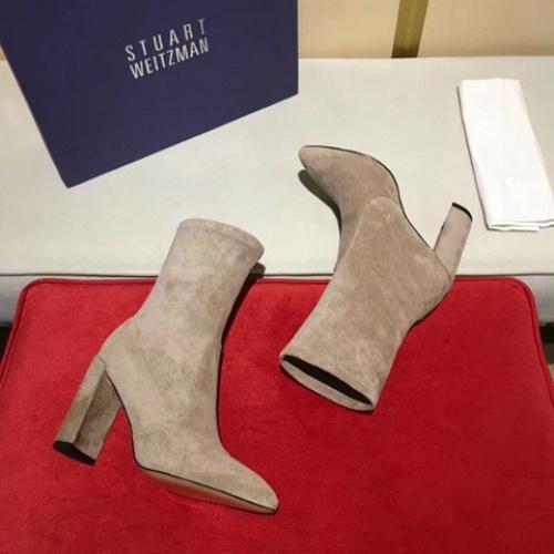 Cheap Stuart Weitzman Boots For Women #525718 Replica Wholesale [$77.60 USD] [W#525718] on Replica Stuart Weitzman Boots