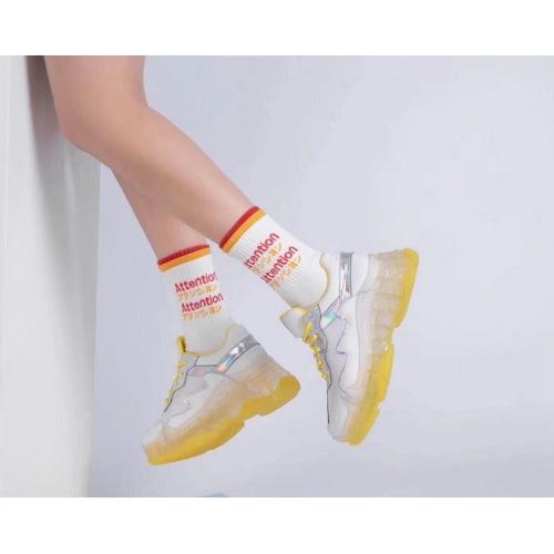 Cheap Balenciaga Casual Shoes For Women #525745 Replica Wholesale [$82.45 USD] [W#525745] on Replica Balenciaga Fashion Shoes