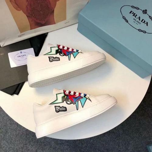 Cheap Prada Casual Shoes For Women #525831 Replica Wholesale [$85.36 USD] [W#525831] on Replica Prada Casual Shoes