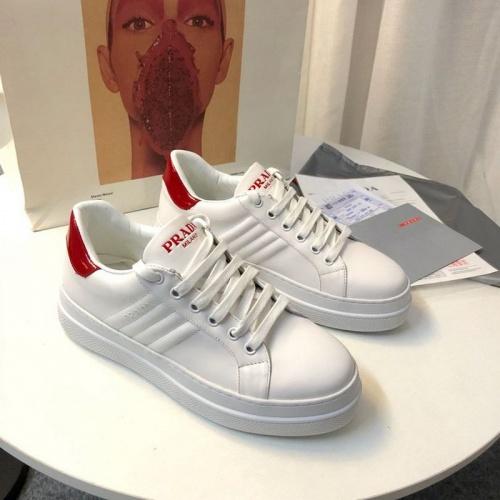 Cheap Prada Casual Shoes For Women #525839 Replica Wholesale [$79.54 USD] [W#525839] on Replica Prada Casual Shoes