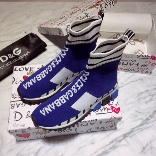 Cheap Dolce & Gabbana D&G Boots For Women #525854 Replica Wholesale [$73.72 USD] [W#525854] on Replica Dolce & Gabbana D&G Boots