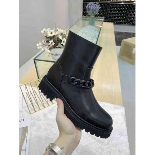 Cheap Giuseppe Zanotti Boots For Women #525855 Replica Wholesale [$95.06 USD] [W#525855] on Replica Giuseppe Zanotti Boots