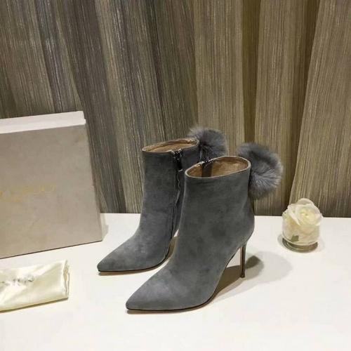 Cheap Jimmy Choo Boots For Women #525861 Replica Wholesale [$89.24 USD] [W#525861] on Replica Jimmy Choo Boots