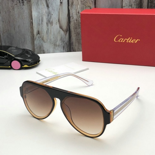 Cheap Cartier AAA Quality Sunglasses #525956 Replica Wholesale [$52.38 USD] [W#525956] on Replica Cartier Super AAA Sunglasses