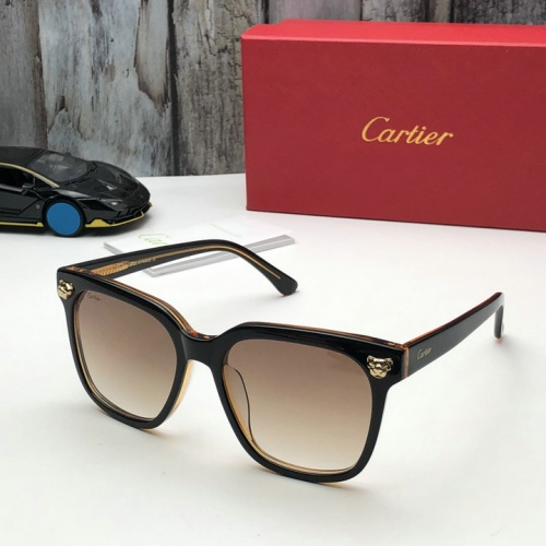 Cheap Cartier AAA Quality Sunglasses #525960 Replica Wholesale [$52.38 USD] [W#525960] on Replica Cartier Super AAA Sunglasses
