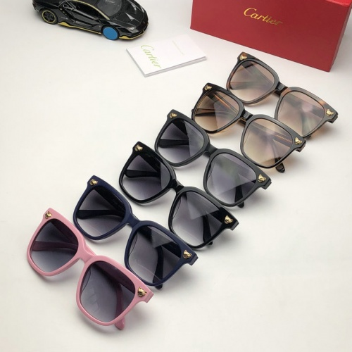 Cheap Cartier AAA Quality Sunglasses #525961 Replica Wholesale [$52.38 USD] [W#525961] on Replica Cartier Super AAA Sunglasses