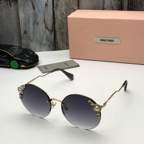 Cheap MIU MIU AAA Quality Sunglasses #526067 Replica Wholesale [$52.38 USD] [W#526067] on Replica MIU MIU AAA Sunglasses