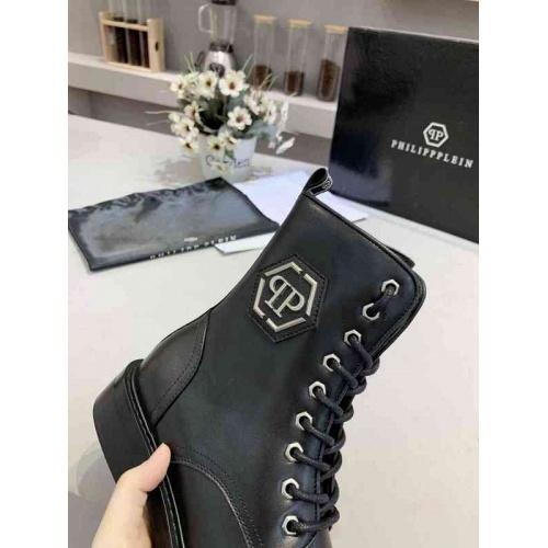 Cheap Philipp Plein PP Boots For Women #526087 Replica Wholesale [$95.06 USD] [W#526087] on Replica Philipp Plein PP Boots