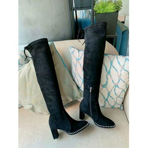Cheap Stuart Weitzman Boots For Women #526124 Replica Wholesale [$95.06 USD] [W#526124] on Replica Stuart Weitzman Boots
