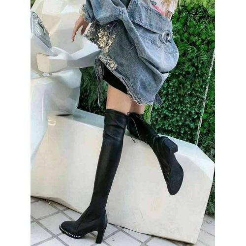 Cheap Stuart Weitzman Boots For Women #526125 Replica Wholesale [$95.06 USD] [W#526125] on Replica Stuart Weitzman Boots