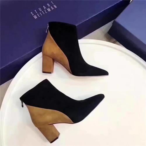 Cheap Stuart Weitzman Boots For Women #529183 Replica Wholesale [$79.54 USD] [W#529183] on Replica Stuart Weitzman Boots