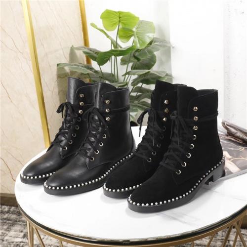 Cheap Stuart Weitzman Boots For Women #529186 Replica Wholesale [$89.24 USD] [W#529186] on Replica Stuart Weitzman Boots