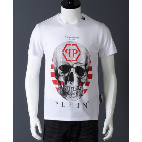 Philipp Plein PP T-Shirts Short Sleeved O-Neck For Men #530570