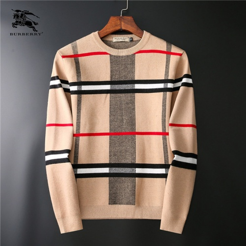 Burberry Sweaters Long Sleeved O-Neck For Men #531279
