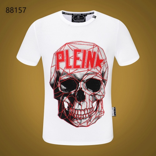 Cheap Philipp Plein PP T-Shirts Short Sleeved O-Neck For Men #532408 Replica Wholesale [$31.04 USD] [W#532408] on Replica Philipp Plein PP T-Shirts