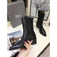 Cheap Christian Dior Boots For Women #525673 Replica Wholesale [$98.94 USD] [W#525673] on Replica Christian Dior Boots
