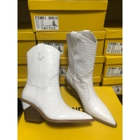 Cheap Fendi Fashion Boots For Women #525682 Replica Wholesale [$111.55 USD] [W#525682] on Replica Fendi Fashion Boots