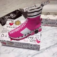 Cheap Dolce & Gabbana D&G Boots For Women #525848 Replica Wholesale [$73.72 USD] [W#525848] on Replica Dolce & Gabbana D&G Boots