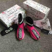 Cheap Dolce & Gabbana D&G Boots For Women #525853 Replica Wholesale [$73.72 USD] [W#525853] on Replica Dolce & Gabbana D&G Boots