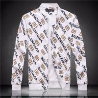 Balenciaga Jackets Long Sleeved Zipper For Men #526864