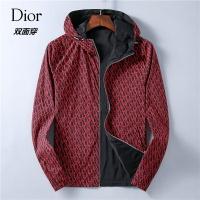 Christian Dior Jackets Long Sleeved Zipper For Men #526900