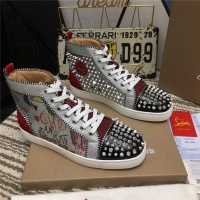 Christian Louboutin High Tops Shoes For Men #527969