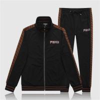Fendi Tracksuits Long Sleeved Zipper For Men #528343